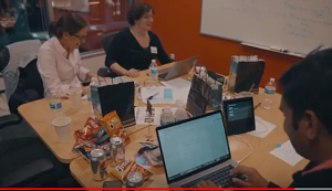 Alpesh and team hacking