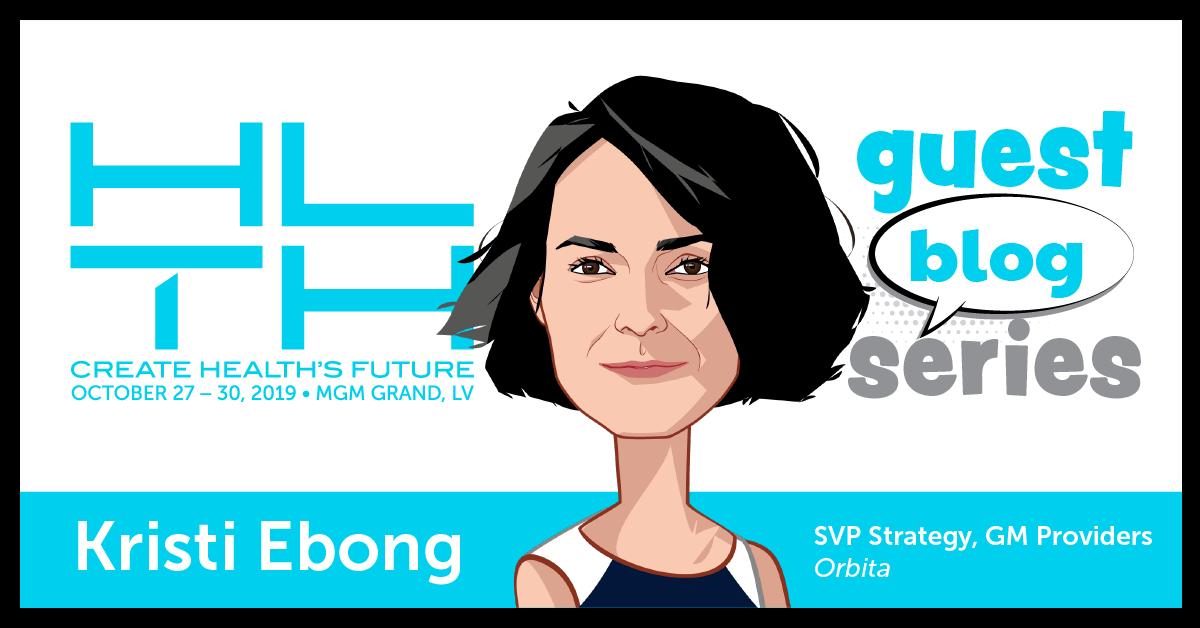 Kristi Ebong, SVP Corporate Strategy at Orbita