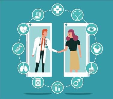 Digital Front Door healthcare