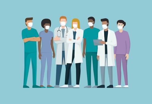 Evidence of fragmentation in healthcare