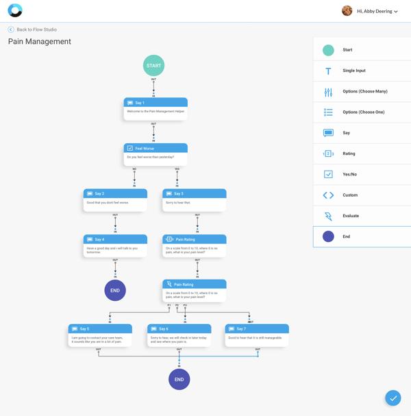 Orbita Flow Studio - Visual Application Builder