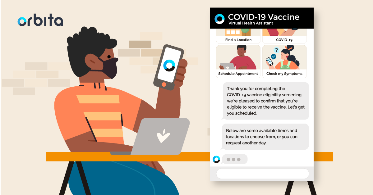COVID-19 vaccine access clinical program powered by Orbita