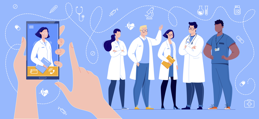 Using Virtual Assistants to Engage Healthcare Providers