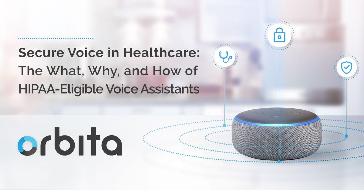 Beyond HIPAA: Securing Voice Assistants for Healthcare Applications
