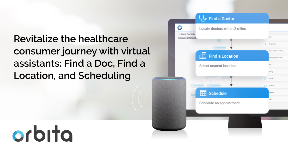 Revitalize the Healthcare Consumer Journey with Virtual Assistants: Find a Doc, Find a Location, and Scheduling